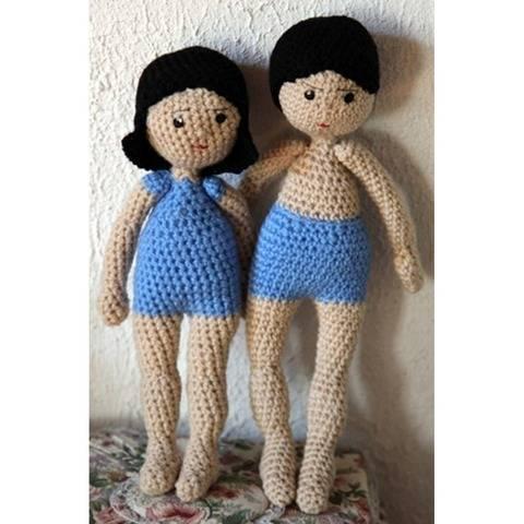 Léonie et Gabriel - e-book crochet chez Makerist