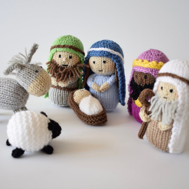 A Child is Born Nativity Set