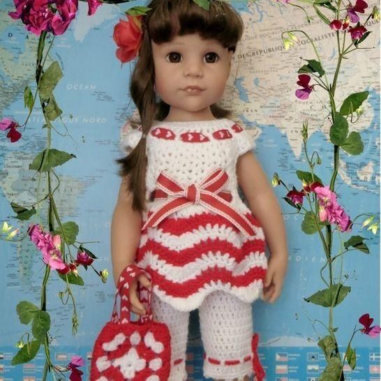 Fiche patron crochet  04  pour poupée Hannah de Gotz chez Makerist - Image 1