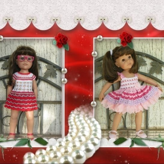 Fiche patron crochet  G08  pour poupée Hannah de Gotz chez Makerist - Image 1
