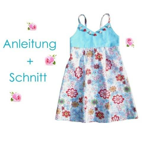 Nähanleitung + Schnitt Kleid Nele 80-134 bei Makerist