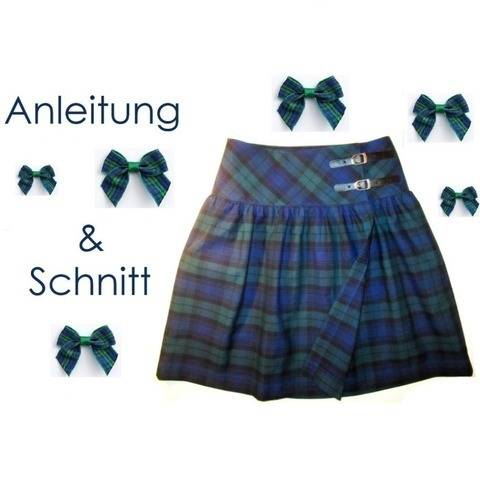 Schnitt + Anleitung Damen Wickelrock 34-48 bei Makerist