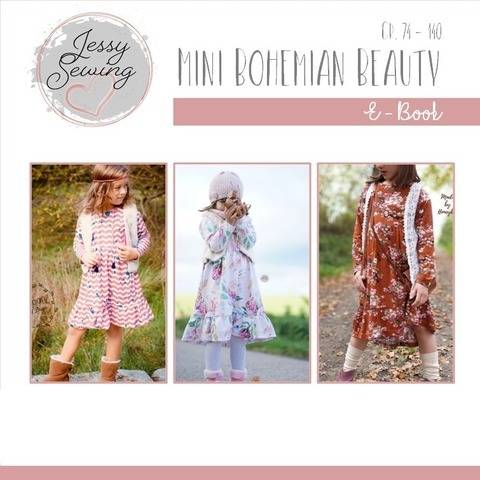 eBook *Mini Bohemian Beauty*Kleid GR. 74 BIS 140 Boho Look bei Makerist