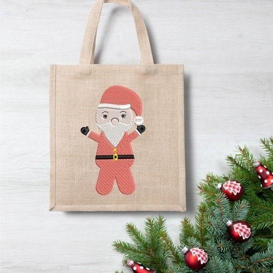 Weihnachtsmann  - Stickdatei  für 10 x 10 Rahmen bei Makerist - Bild 1