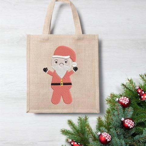 Weihnachtsmann  - Stickdatei  für 10 x 10 Rahmen