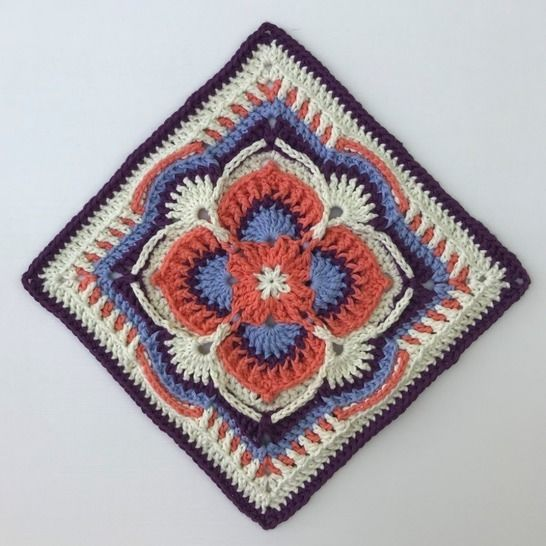 Olivia Grace Afghan Square at Makerist - Image 1