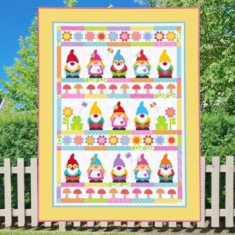 Home Sweet Gnome Quilt Pattern