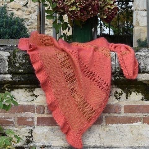 Cheriyam shawl at Makerist