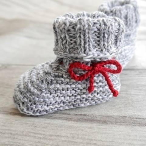Knitting Pattern – BABY BOOTEES basic – No.168E-1 at Makerist