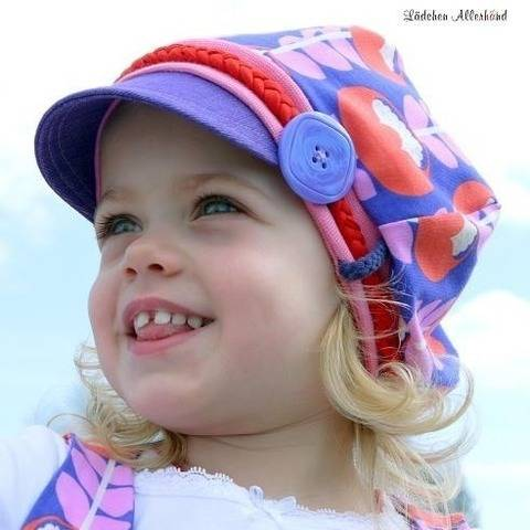 Sewing pattern and sewing instructions Lena Balloon Hat at Makerist