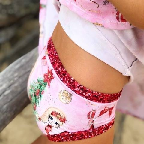 """Whitney Knickers"" Kids Sewing Pattern and E-Book Tutorial"