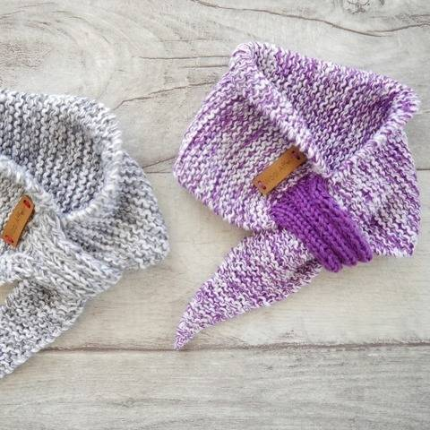 Knitting Pattern – Baby Scarf basic – No.168E-3