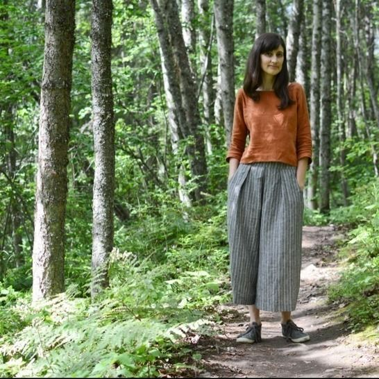 Fernway Culottes - Adult - PDF Pattern at Makerist - Image 1