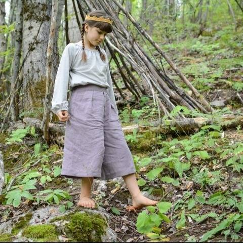 Fernway Culottes - Child - PDF Pattern at Makerist