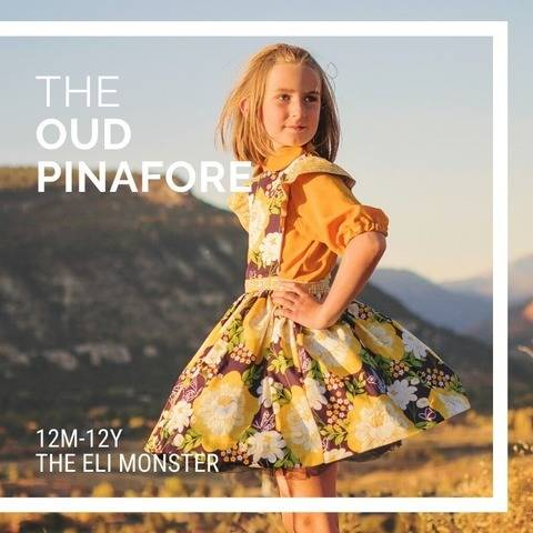 The Oud Pinafore, Sized 12m-12y