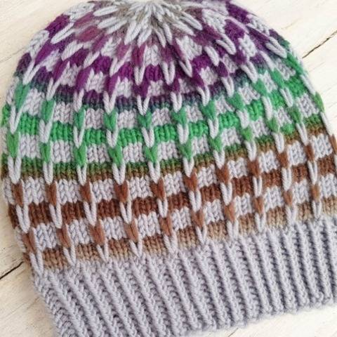 KNITTING PATTERN, Beanie, Hat, Hat Trick #2 at Makerist