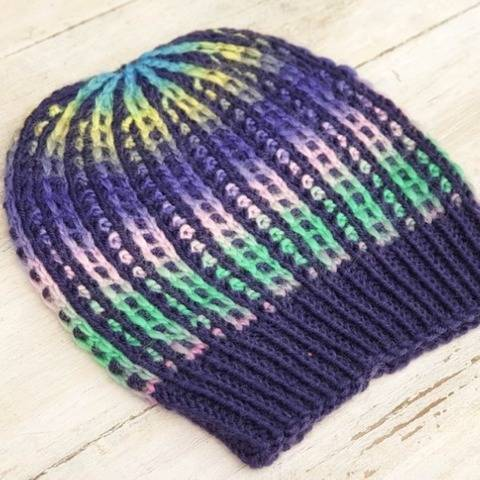 Hat Trick #3 Knitting Pattern, Beanie Pattern, 7 Sizes at Makerist