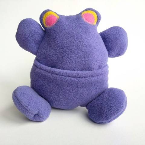 Frog Monster Plush Toy Sewing Pattern at Makerist