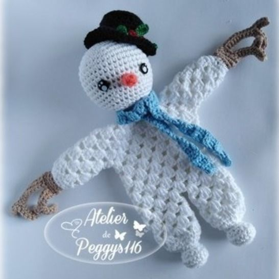 Snowman lovey granny at Makerist - Image 1
