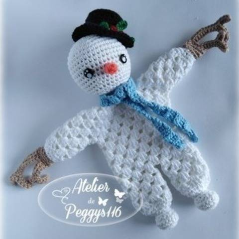 Snowman lovey granny at Makerist