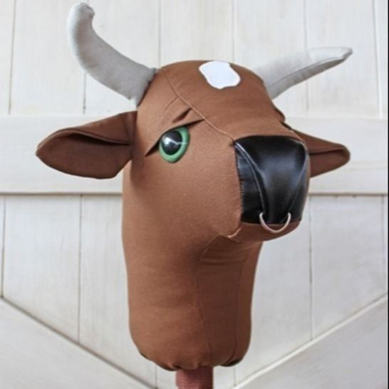 Rodeo Bull Stick Horse Hobby Horse Ride-on Toy at Makerist - Image 1