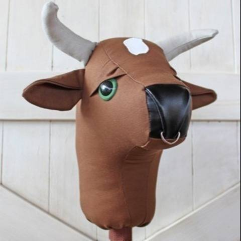 Rodeo Bull Stick Horse Hobby Horse Ride-on Toy at Makerist
