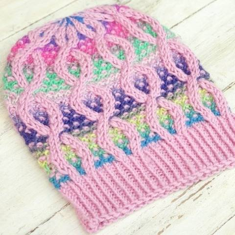 Hat Trick #4, Hat Knitting Pattern, Beanie Pattern at Makerist