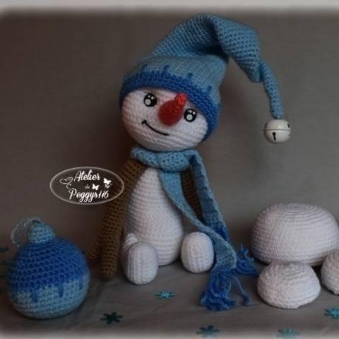 Snowly, le bonhomme de neige chez Makerist