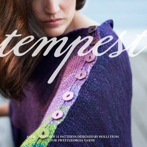 Tempest knitting pattern book - hand knitting patterns