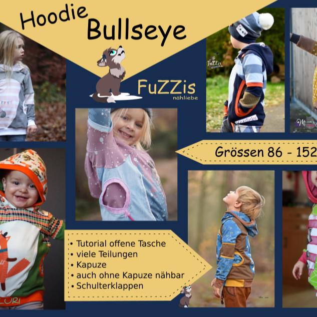 "Hoodie ""Bullseye"" inkl. Minilizenz"