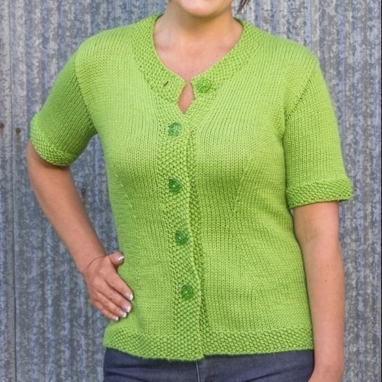 Charleston Top-Down Cardigan #B109 at Makerist - Image 1