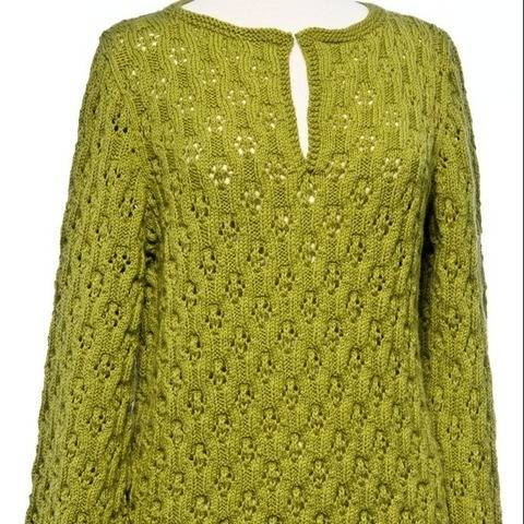 Wave Lace Tunic #180 at Makerist