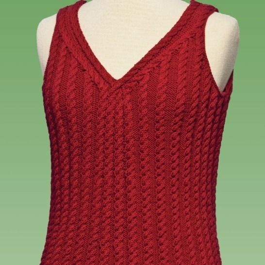 Cable Tank Top #177 at Makerist - Image 1