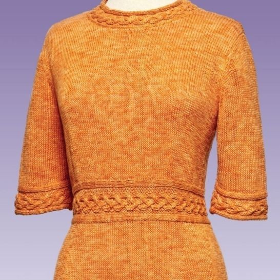 Cable Trim Pullover #175 at Makerist - Image 1
