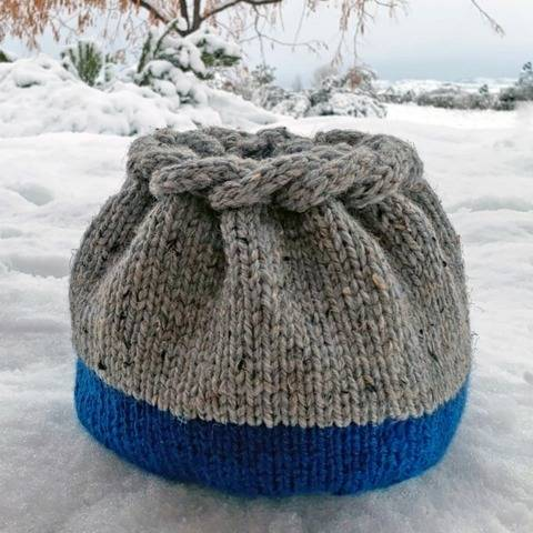 Frozen Woven Basket at Makerist