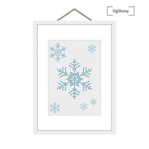 Eiskristalle | DigiStamp