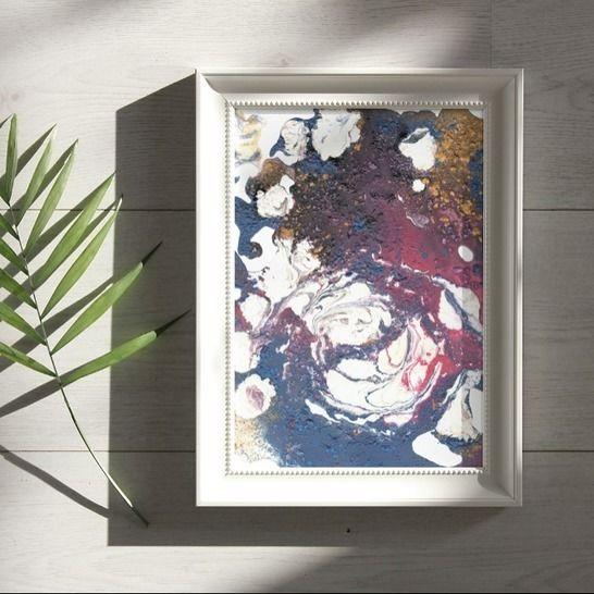 Acryl Kringel - Poster A4 zum selbst Ausdrucken bei Makerist - Bild 1