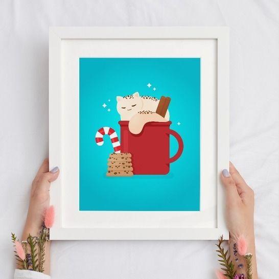 Katze Crema Poster Und Ausmalbilder A4 Zum Ausdrucken