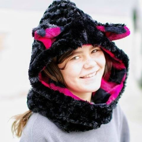 Forest Friends Hooded Cowl at Makerist