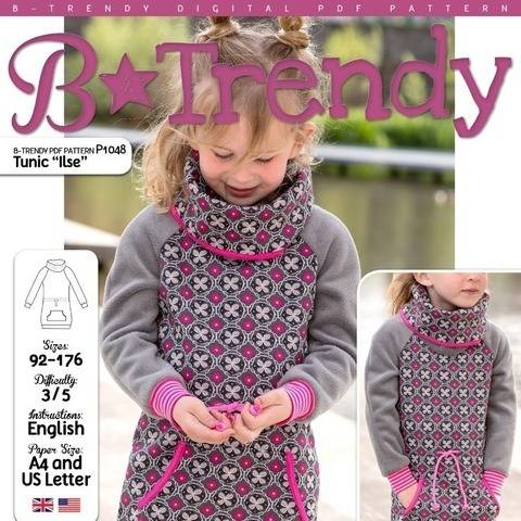 Tunic ILSE PDF Pattern + Tutorial at Makerist