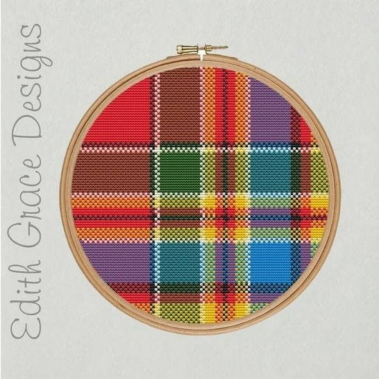 Chattan Tartan Point de Croix at Makerist - Image 1