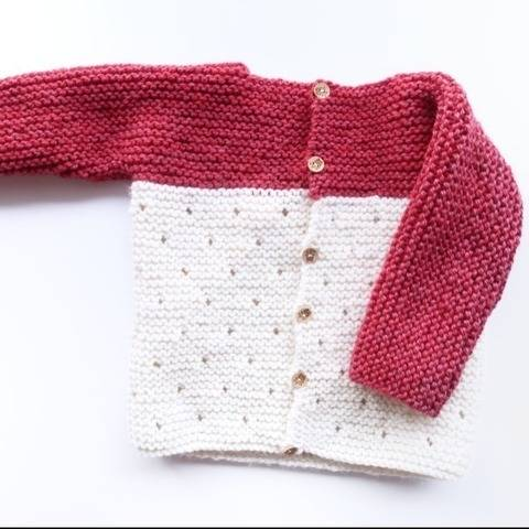 Baby Sweater Knitting Pattern - knitting for baby PDF at Makerist