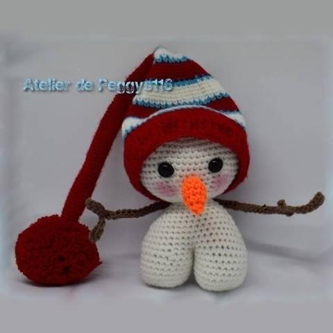 Bonhomme de neige chez Makerist