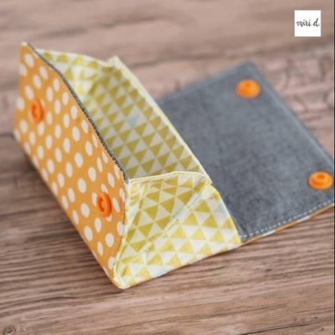 MiniMoneyBag - Pattern for a cute little wallet bei Makerist