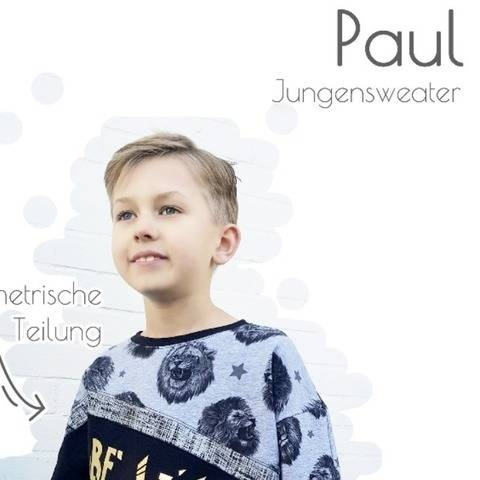 Jungensweater Paul inkl. Plotterdatei & Applivorlage