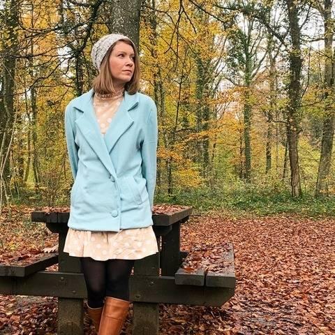 GRACE le manteau à revers - Patron de couture PDF chez Makerist