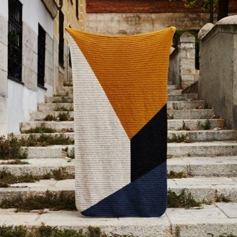 Couverture Kala, ou Kala Blanket chez Makerist