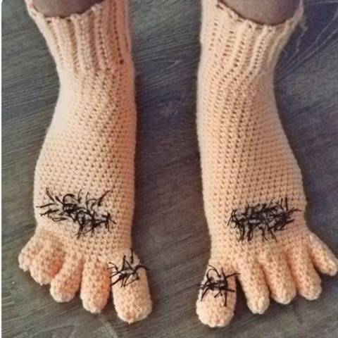 Men's and Boy's Caveman Slippers