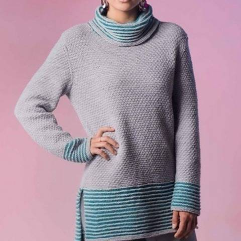 Meadowlark Garden Sweater (knitting pattern) at Makerist