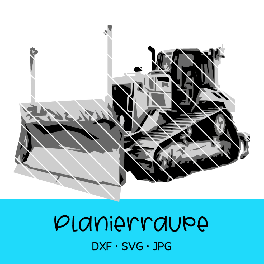 Cutting file  bulldozer for Building site
